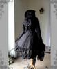 Co-ordinates Show (Black Ver.) (hat: P00546, jacket: CT00236, gloves: P00581, bag: P00585, birdcage petticoat underneath: UN00019)