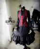 Co-ordeinate Show (Black Ver.) (hat P00526, vest CT00246)