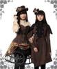 Model Show (flat hat: P00598, blouse: TP00145, corset: Y00039, skirt: SP00167, birdcage petticoat: UN00019, leggings: P00182, mini hat: P00549N, vest underneath: CT00245, shorts underneath: SP00168)