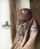 Co-ordinates Show (Deep Brown Ver.) (beret: P00593N, shawl: P00588, dress: DR00115N)