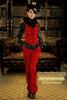 Model Show (Lady Red Velveteen Ver.) (hat: P00544, choker: P00545, blouse: TP00124, pants: SP00122)