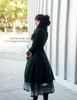 The Sacred Academy of Alexandria, Elegant Gothic Lolita Academic Scholastic Underbust Corset Skirt*4colors Instant Shipping