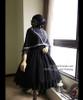 Co-ordinate Show hat P00604, cape CT00250, dress DR00178