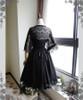 Shadow Grove, Elegant Gothic Lolita Elaborate Chantilly Lace Short Jacket/Bolero*2colors Instant Shipping