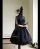 Co-ordinates Show (Black + Silver Black Mixed Lace Ver.) (hair dress: P00607, dress: DR00178, fan: P00580)
