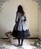 Model Show (Grey Ver.) (hair dress: P00607, dress set: DR00178L, birdcage petticoat: UN00019L, leggings: P00182)