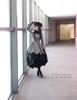 New Romantic, Classic Lolita Petal Bottom Thick Wool Coat*2colors