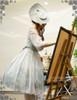 Model Show (Fairy Mint + Grey Ver.) (hat: P00609, birdcage petticoat: UN00019)