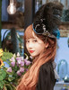 Enchanted Forest, Classic Lolita Handmade Retro Tricorn Hat/Headdress*2colors