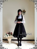 Silence Lonely, Elegant Gothic Retro Stand Collar Cape & Waistcoat/Vest Set*3colors Instant Shipping