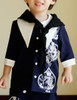 Bunny Alice Lolita Parent-Child Clothes Blouse & Scarf for Kids*2colors Instant Shipping