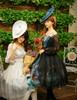 Model Show (silk dress: S03011, birdcage petticoat: UN00019)