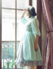 Musical Palmer II, Elegant Gothic Lolita Handmade Goddess Vines Headdress & Shoulder Jewelry Chain Set*2colors