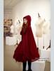 Model View: cape CT00208R, inside dress DR00187
