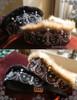 Steel Rose, Elegant Gothic Russia Kokoshnik Crown Like Wool Headdress*2colors