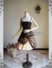 Front View when skirt part tied up (JSK Only) (pannier bloomers: UN00024, petticoat: UN00021)