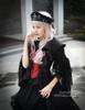 Model Show (Black Ver.) (hairdress: P00610, long vest: CT00243, skirt: SP00180)