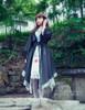 Model View (Black+ Grey Ver.) dress DR00192
