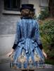 Model Show (Dark blue Ver.) (hat: P00614, jacket CT00268, blouse TP00150, leggings: P00182)