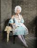 Model Show (Light Blue Ver.) (bonnet: P00577, gloves: P00592, leggings: P00187)