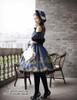 Model Show (Dark Blue Ver.) (hat: P00574, tote: P00581, gloves: P00581, leggings: P00182)