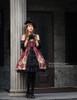 Model Show (Burgundy Ver.) (hat: P00574, gloves: P00581, leggings: P00182)