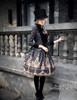 Model Show (Black Ver.) (jacket: CT00268, JSK: DR00189, blouse: TP00125N, leggings: P00182)