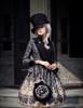 Model Show (Black Ver.) (jacket: CT00268, JSK: DR00189, blouse: TP00125N, tote: P00583)