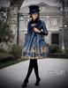 Model Show (Black + Dark Blue Ver.) (jacket: CT00268, JSK: DR00189, blouse: TP00125N, leggings: P00182)