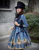 Model Show (Black + Dark Blue Ver.) (jacket: CT00268, JSK: DR00189, blouse: TP00125N)