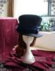 Elegant Gothic Dandy Bias Top Hat & Sash Set*4colors