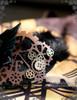 Hanmade Steampunk Alice Tea Party Cheshire Cat Headdress