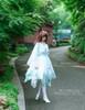 Model Show (Bluish Snow Refined Grove Ver.) (gown: CT00261, birdcage petticoat: UN00027, leggings: P00187)