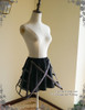 Front View w/o Tulle Sash (Black + Brown Ver.)