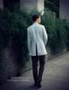 50s' Vintage Suit Pants Men's Formal Dress Pants Grey Brown Retro Fashion