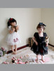 Bunny Alice Lolita Parent-Child Clothes 4pcs Dress & Hairbow Set*Kids Version New Colors Instant Shipping