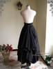 Back View when back fastened up (petticoat: CT00040S)
