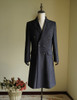 Vintage Mens Coat Worsted Wool Coat Frock Coat Inverness Coat Cape