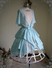 Front View (Mint Blue Ver.) (birdcage petticoat: UN00028)
