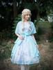 Model Show (Mint Blue Ver.) (headdress: P00626, OP underneath: DR00198)