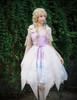 Model Show (Misty Rose + Fairy Blue + Pale Pink Chiffon Ver.) (headdress: P00626, petticoat: UN00026)