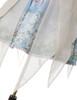 Last Chance Fairy Lolita Floral Midi Dress Cape Dress Summer Ball Dress Bustle Skirt Set