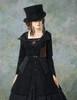 Model Show (Black Ver.) (hat: P00614, dress: DR00178)
