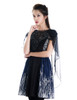 Model Show (Black + Dark Blue Ver.) (cape: S04021, leggings: P00182)
