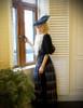 Model Show (Black Version) Skirt & Shawl: SP00184 hat p00625