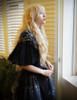 Model Show (Black Version) Skirt & Shawl: SP00184