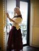 Model Show (White Version) Skirt & Shawl: SP00184