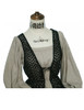 Detail View (Antique Grey + Black Jagged Knitting Fabric Version)