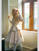 Model Show  (Ivory Version) dress DR00205