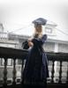 Model Show (Black + Grey Tulle Version) hat P00625 blouse TP00157 coat CT00279